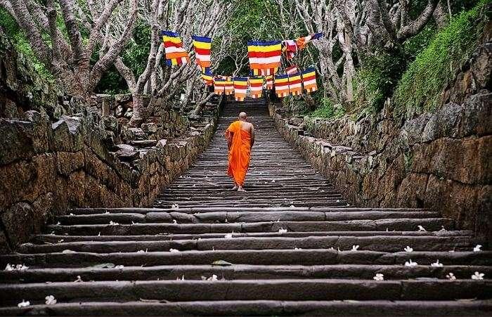 Mihintale, monastic city of Buddhism in Sri Lanka