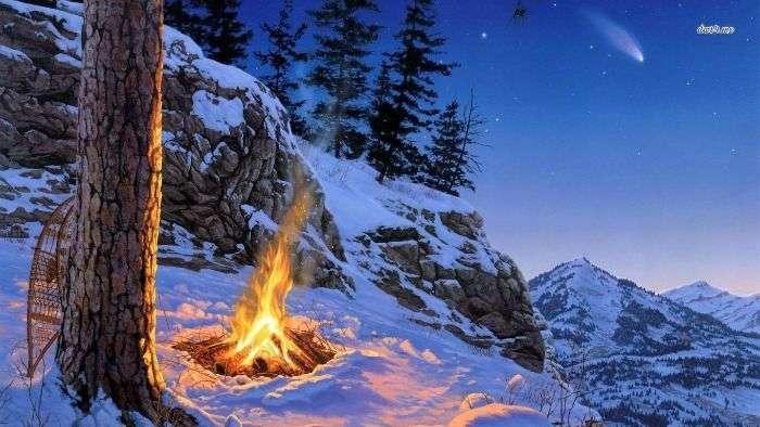 Mountain bonfire adventures in Mcleodganj and Kasauli