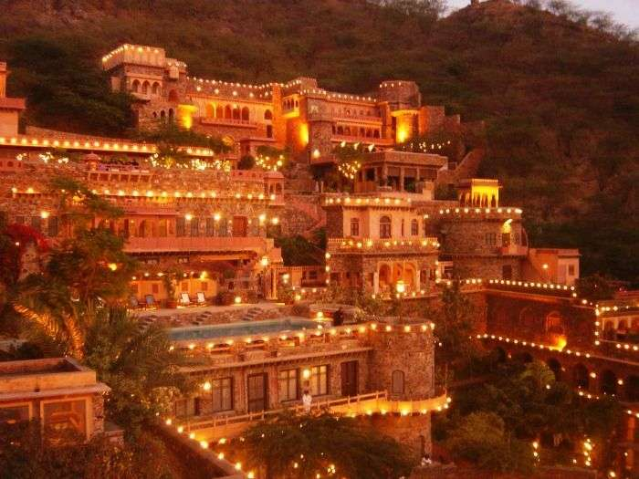 Neemrana Fort Palace - best romantic road trip from Delhi