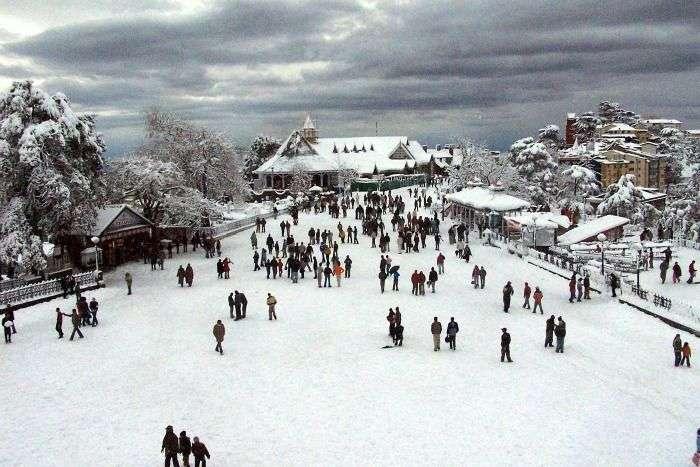 Tourist spot in Shimla, one of the best hill stations near Delhi