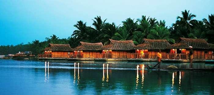 Poovar Island Resort located at the Poovar Beach, Kerala