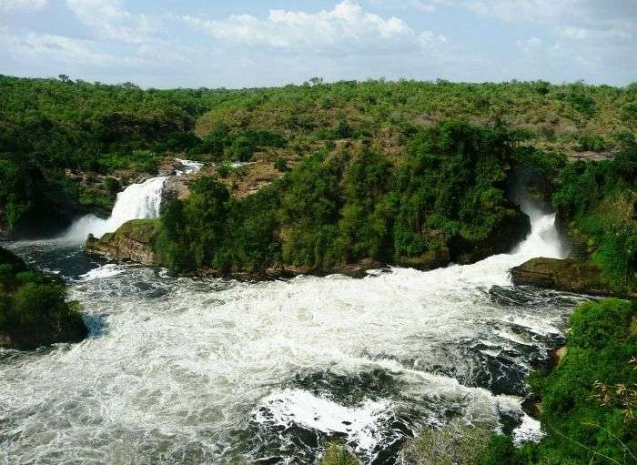 Explore the Murchison Falls on a family vacation in East Africa