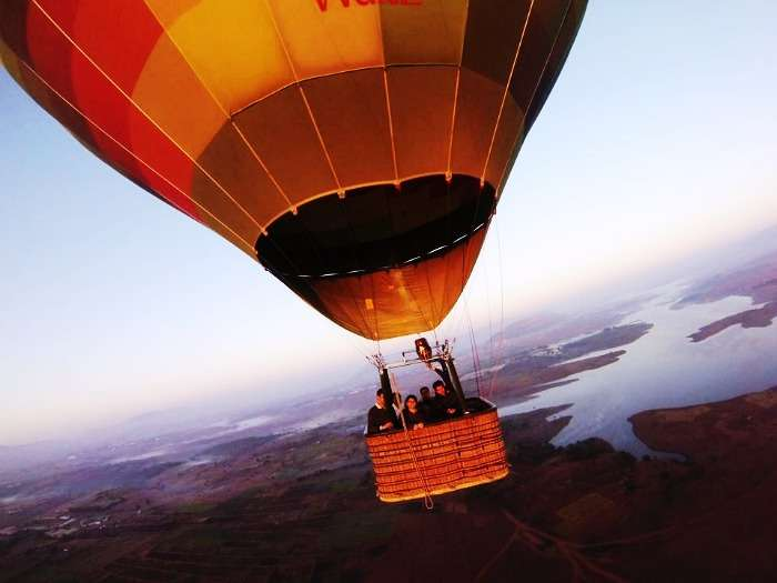 7 Best Destinations In India For A Hot Air Balloon Ride In 2020