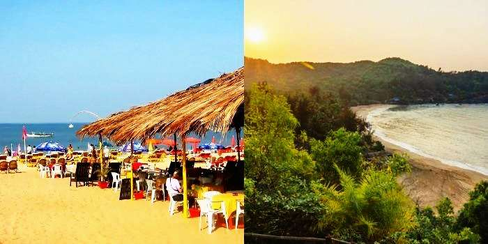 Beaches of Goa and Gokarna