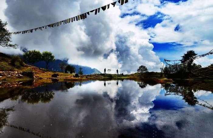 Enroute Goecha La trekking ,West Sikkim, Northeast India