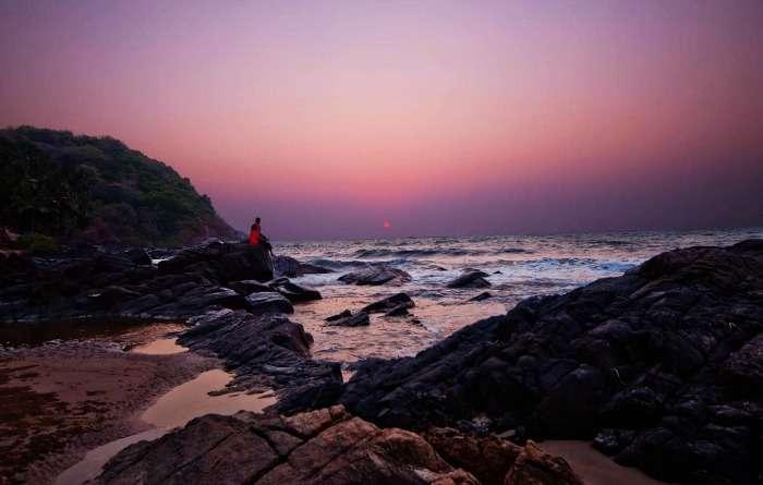 Kudle Beach in Gokarna long weekend getaway from Bangalore