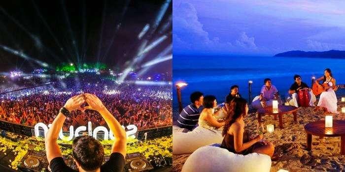 Nightlife fun activities in Goa and Gokarna