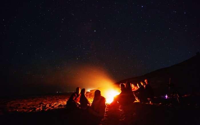 Stargazing and Bonfire in Matheran