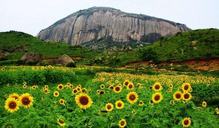 Second largest monolith in Asia, Madhugiri