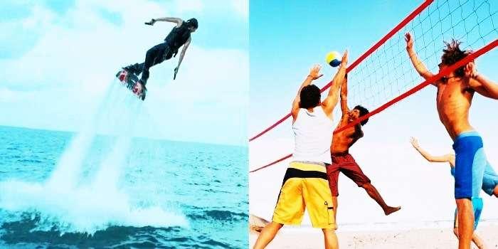 Water Sports activities in Goa and Gokarna