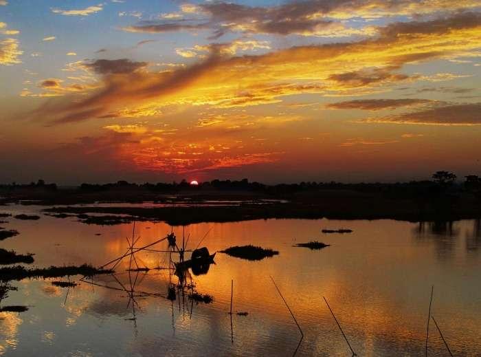 the largest river island, majuli