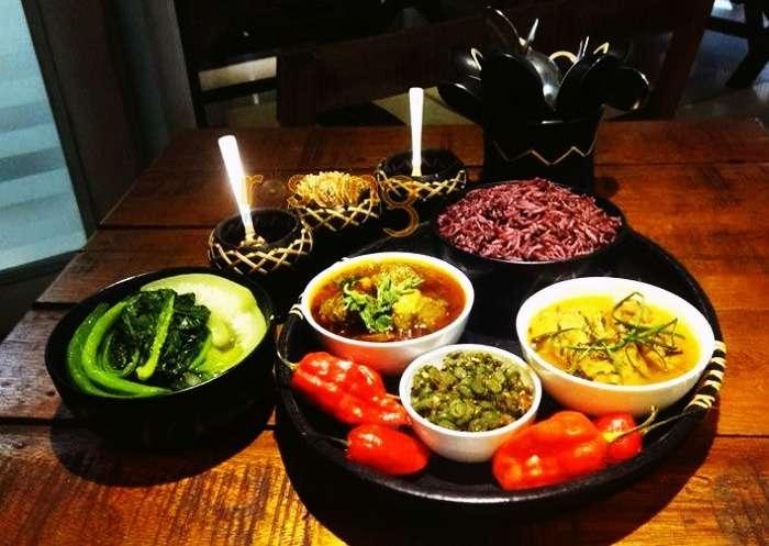 manipuri cuisine at rosang cafe