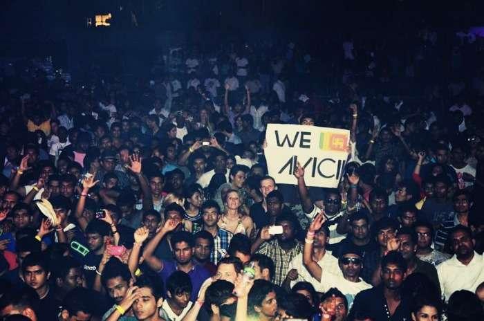 Avicii concert in Sri Lanka