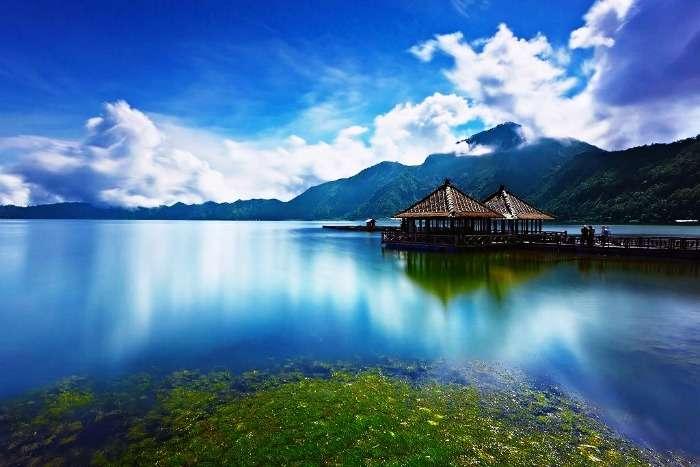 The majestic island of Bali, Indonesia