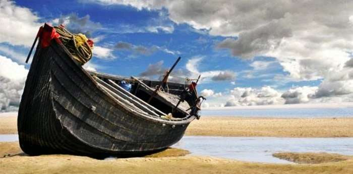 The calm Digha beach in West bengal