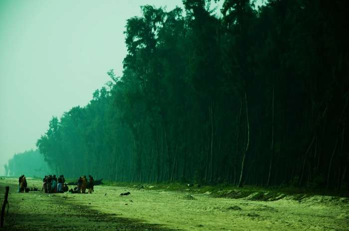 The pristine beach of Junput