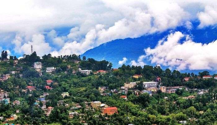 The gorgeous views of Kalimpong