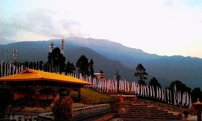 Gorgeous views of the hills from Ravangla