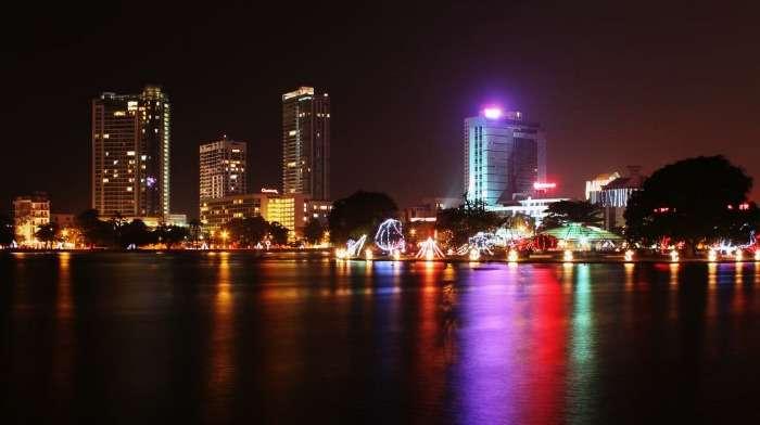 The capital city Colombo