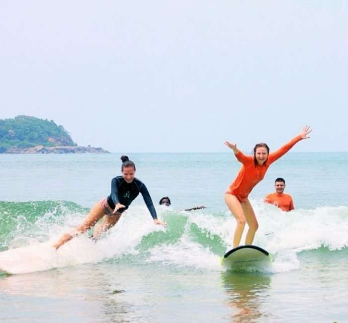 Sea Surfing in SriLanka