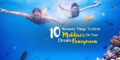 Romantic things to do on Maldives honeymoon