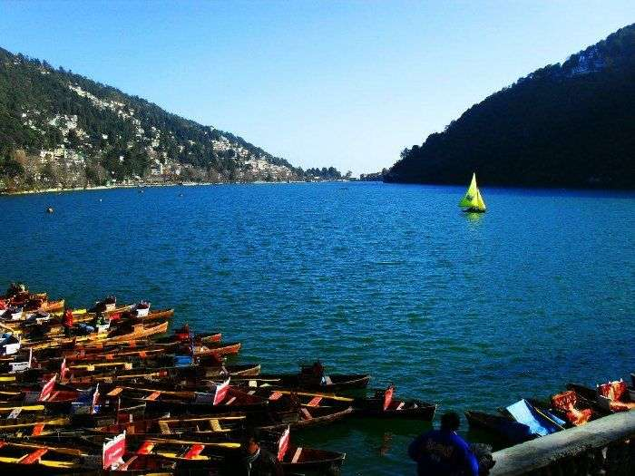 Boating is one of the best things to do in Nainital
