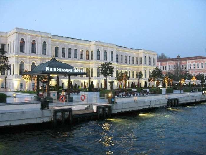 Four Seasons Hotel in Istanbul