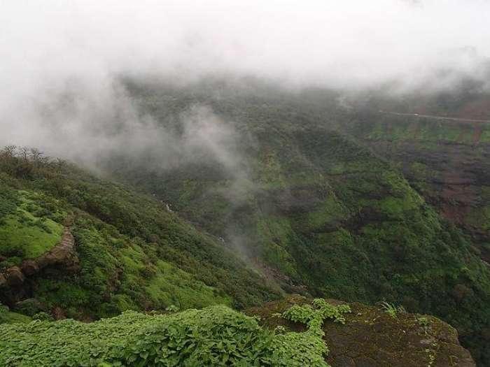 Malshej Ghat is a popular trekking and picnic spot near Pune in summer