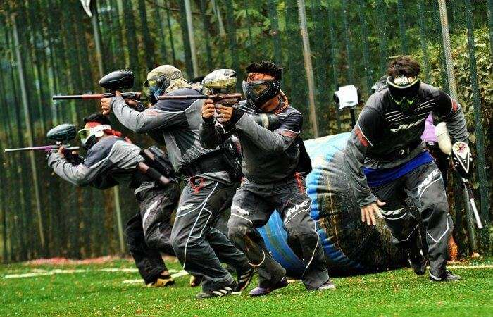 Paintball at Red Dynasty Paintball Park