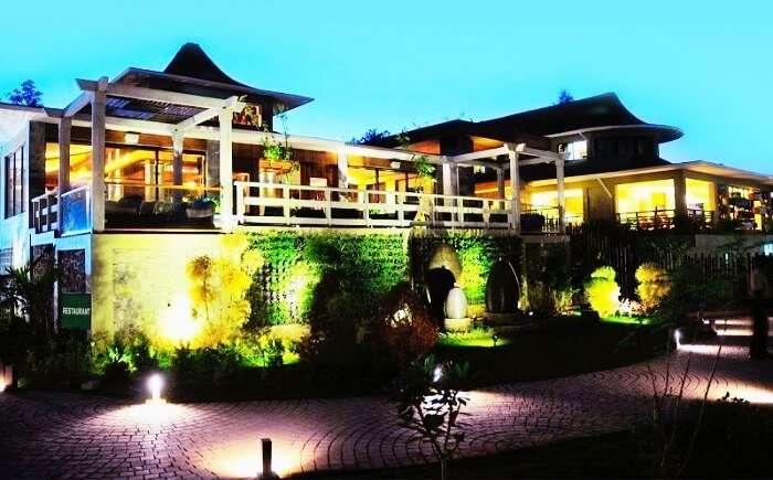 The magnificent Ambrosia Resort near Pune