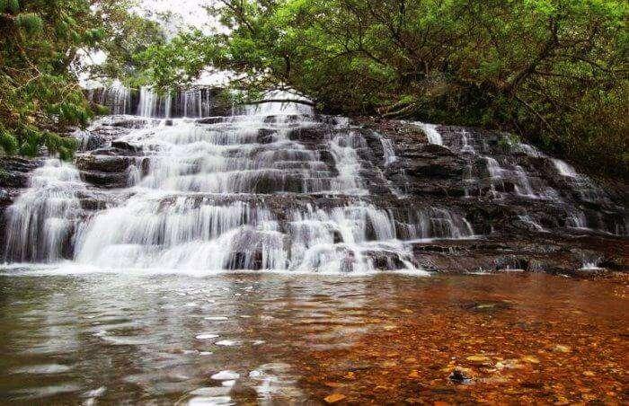 Bear Shola Falls in Kodaikanal are the nearest waterfalls around chennai