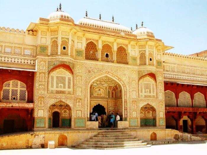 Amer fort is amongst the most popular historical places in Jaipur