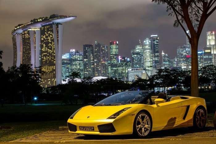 Formula One Ride at Marina Bay