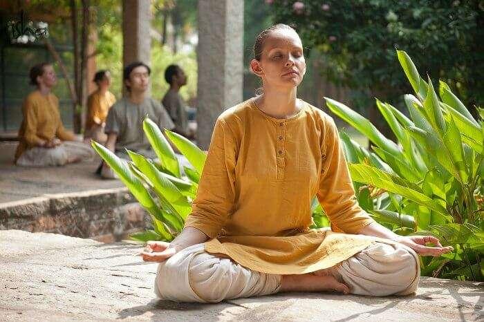 Indulge in some deep meditation at Isha Yoga Center in Tamil Nadu