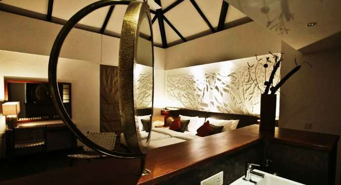 Luxurious tents in the Kaav Safari Lodge - one of the most exotic resorts near Bangalore for couples
