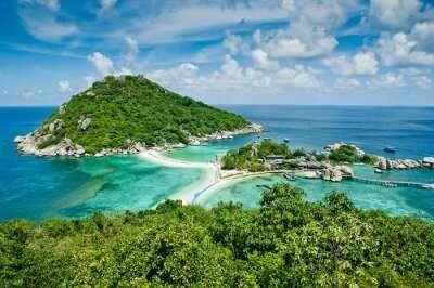 honeymoon in Koh Nang Yuan