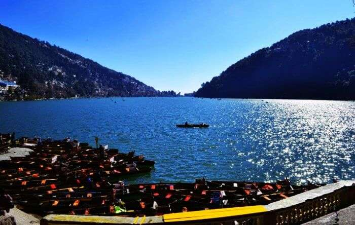 Naini lake is one of the best tourist attractions in Nainital