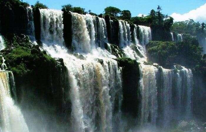 Olakkay Aruvi waterfalls in Kanyakumari