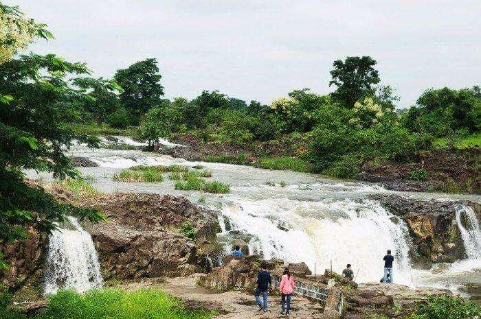 Pachera Falls are one of the most beautiful waterfalls near Hyderabad