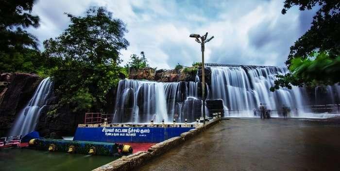Thiruparappu waterfalls in Kanyakumari