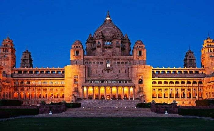 Umaid Bhawan Palace in Jodhpur is one of the best historical places of Rajasthan