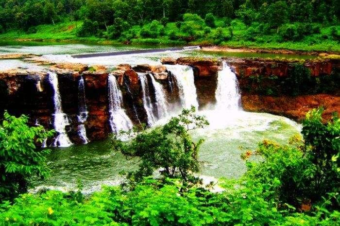 The stunning Vaideki waterfalls near Chennai in Coimbatore