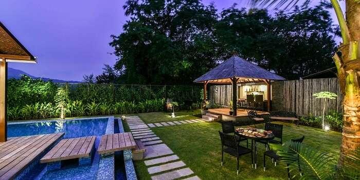 u tropicana resort private villa