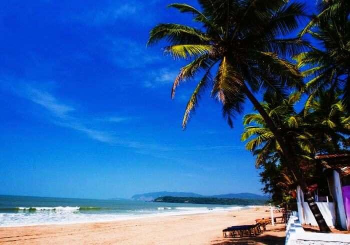 One of the best beaches in India, Agonda Beach