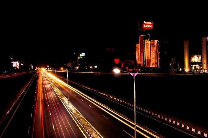 night lights at ahmedabad