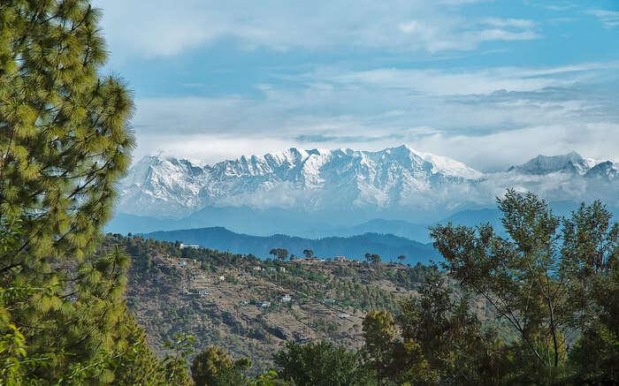 Mountainscape of Almora