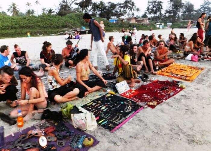 One of the coolest beaches in India, Arambol Beach