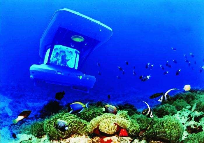 Blue Safari Submarine in Mauritius
