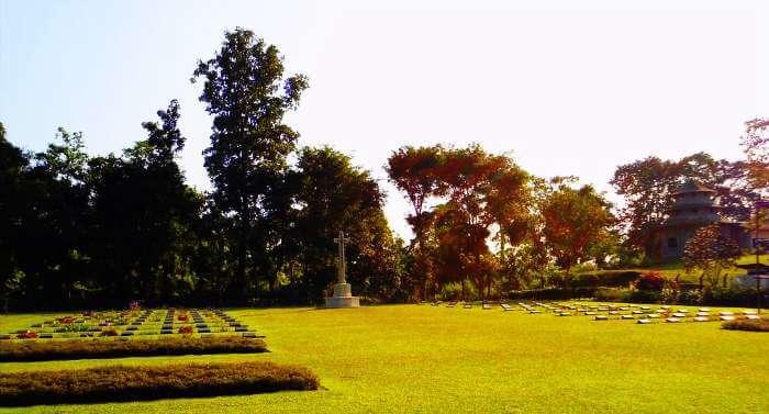 War Cemetery in Digboi