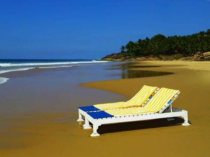 A honeymooner's paradise, Mandrem Beach in Goa
